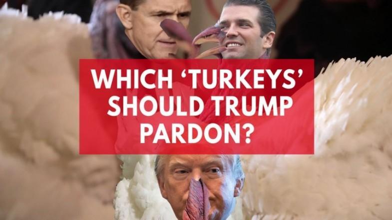 Twitter suggests pardoning Trump Jr instead of turkey