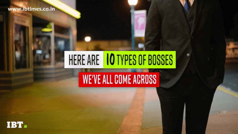 10 types of bosses we've all come across