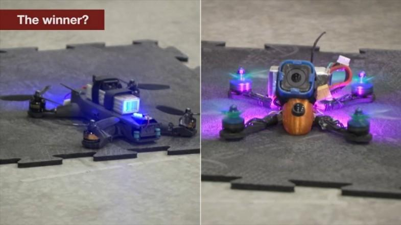 Drone race: Nasas AI-backed drone takes on human-controlled one