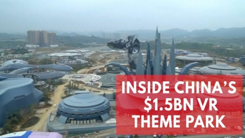 Inside Chinas first billion dollar virtual reality theme park