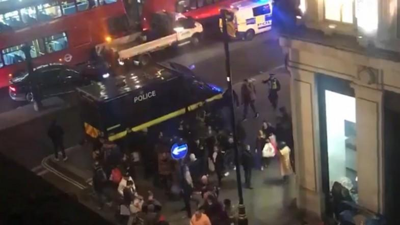 Oxford Circus incident: Police evacuate area amid reports of gunshots
