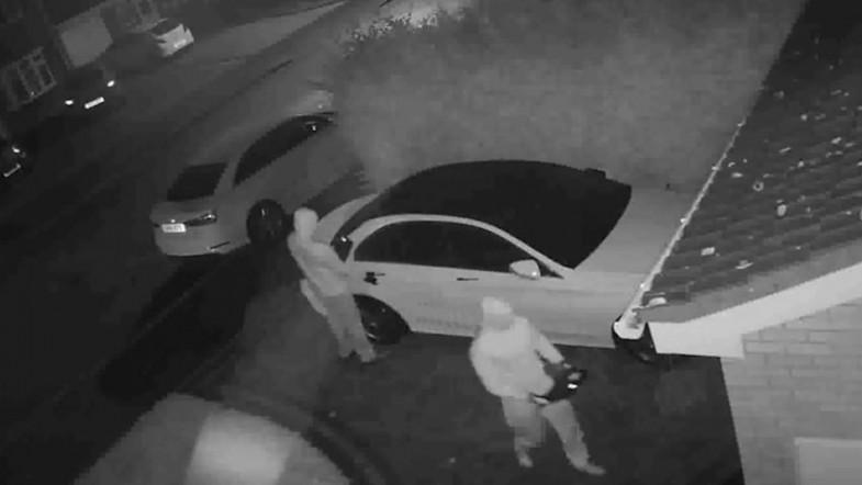 Gone in 60 seconds: Car thieves steal Mercedes by remote control