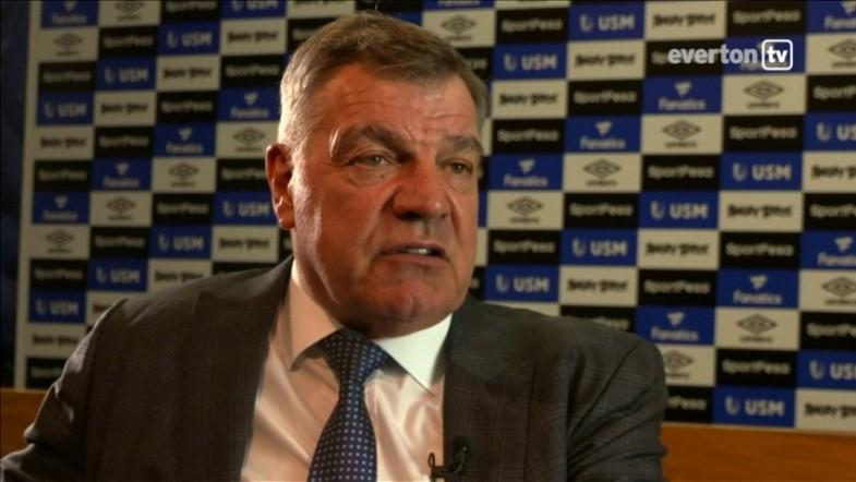 New Everton manager Sam Allardyce lauds clubs ambition