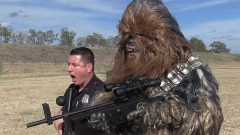 Chewbacca joins Texas police department