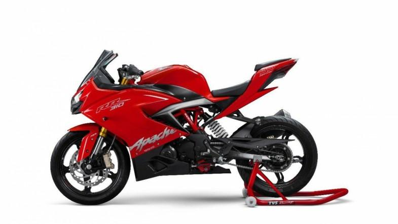TVS Apache RR 310 walk-around video