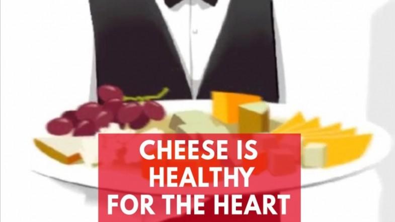 New study shows cheese is healthy for the heart