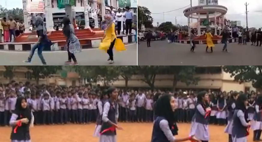 Kerala Muslim Girls Flash Mob Controversy More Such Videos Surface Online Womens -9670