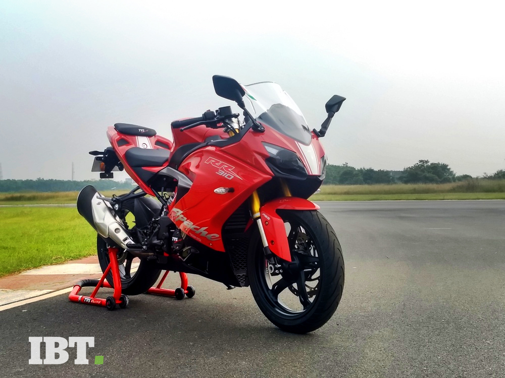 TVS Apache RR 310 costs over Rs 2 lakh across India, but is