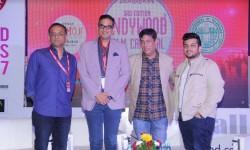 Shobu Yarlagadda , Aashish Singh, Taran Adarsh and Shreyansh Hirawat