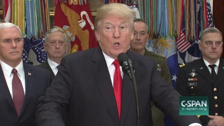 President Trump calls for ending chain migration and the visa lottery program following attempted terror attack
