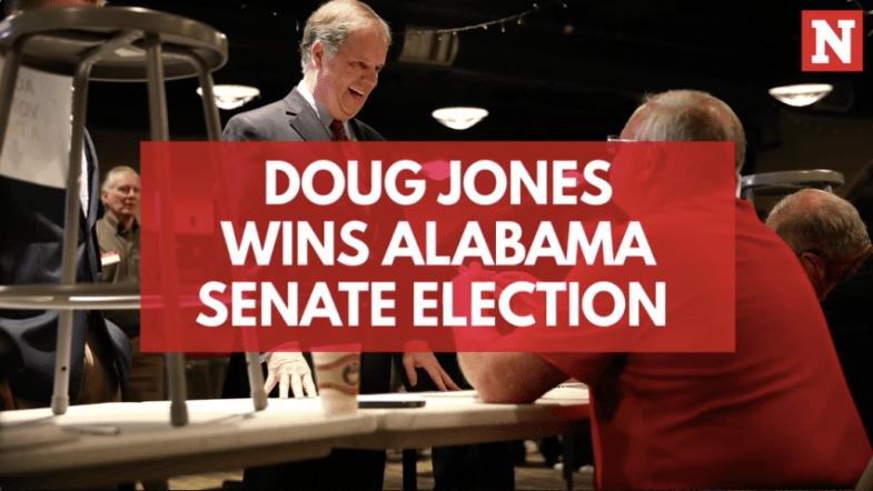 Doug Jones wins Alabama Senate election in historic upset