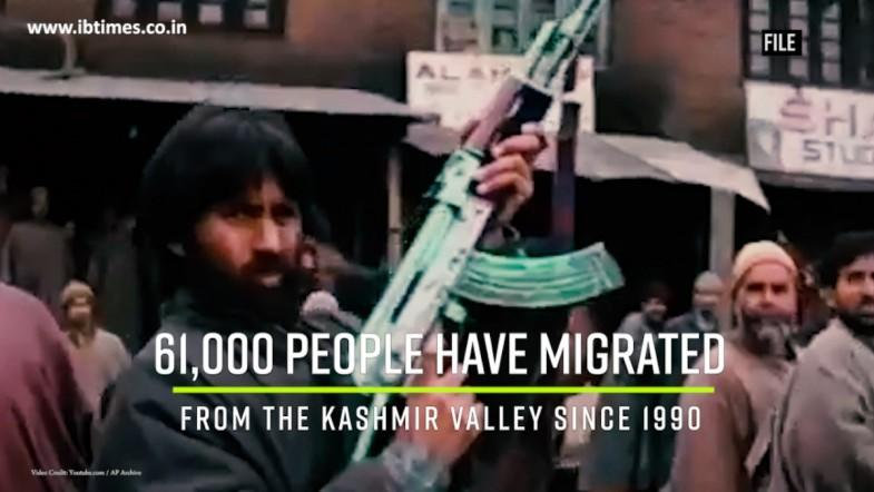 61,000 Kashmiris have migrated from the valley
