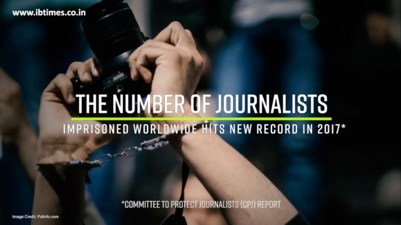 Number of jailed journalists sets global record: CPJ