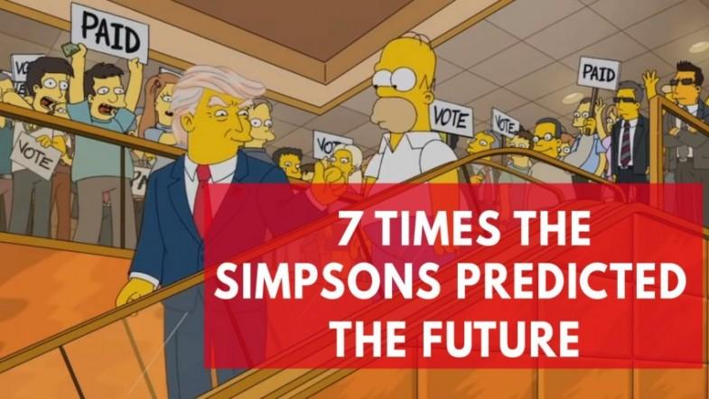 Seven times The Simpsons predicted the future