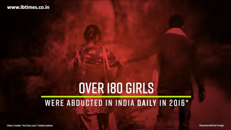 Over 180 girls abducted daily in 2016