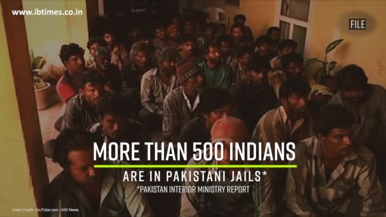 Over 500 Indians are in Pakistani jails