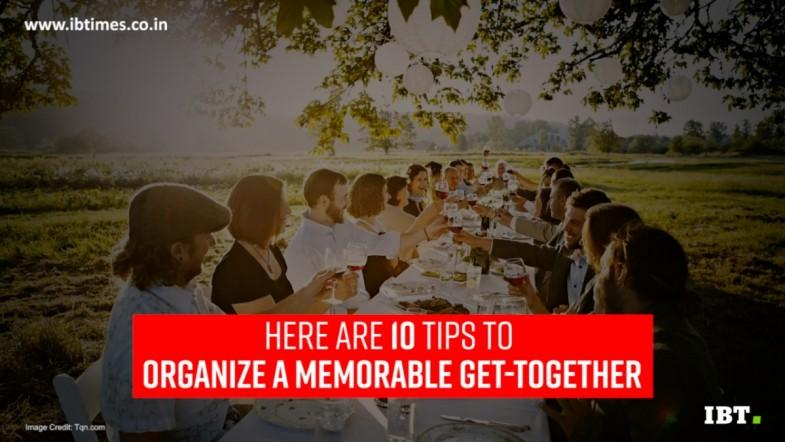 10 tips to organize a successful family reunion