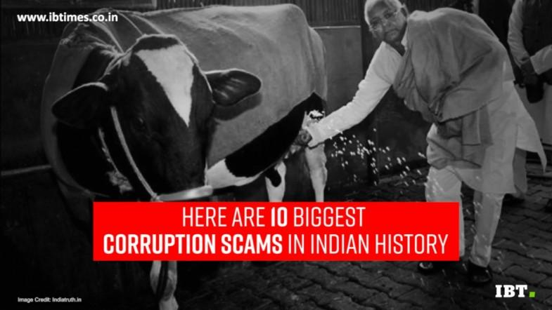 10 biggest corruption scams in Indian history