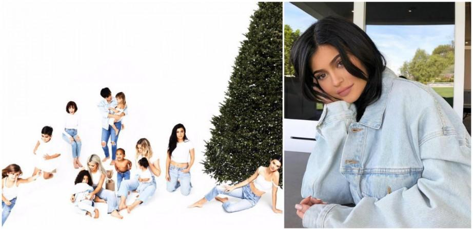 The Kardashian Christmas Card 2021 Kylie Jenner Missing From The Kardashian Christmas Card Leaves Fans Outraged Here S What Twitter Says Ibtimes India