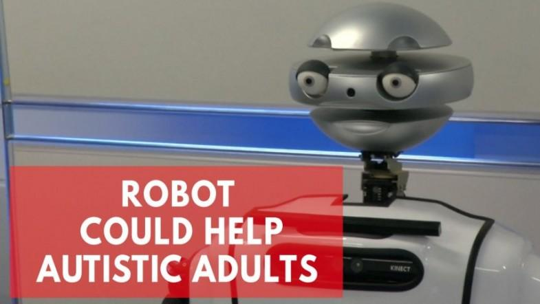 Robot Alyx made to help autistic adults thrive in the workplace