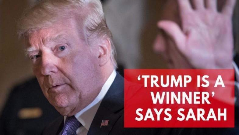 Trump is a winner, Sarah Sanders says as she denounces Wolffs book