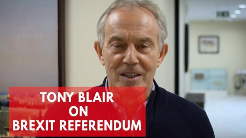 Tony Blair on Brexit: British people have a right to think again