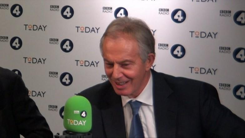 Tony Blair denies Trump book claim that he warned about British intelligence monitoring