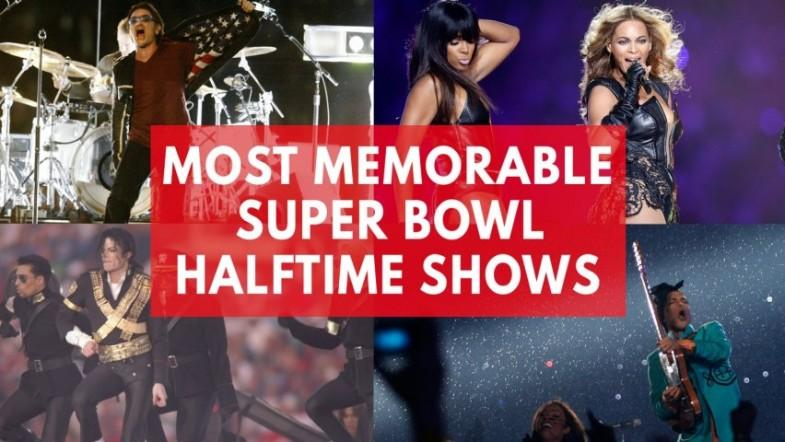 Most memorable Super Bowl halftime shows