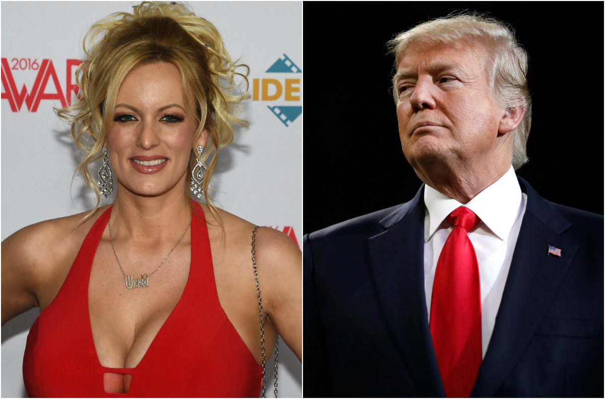 Stormy Daniels searches spike on Pornhub after Trump
