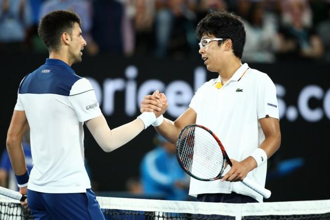 Chung Hyeon Shows Novak Djokovic The Australian Open 2018 Exit Door Ibtimes India