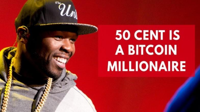 50 Cent is a Bitcoin millionaire