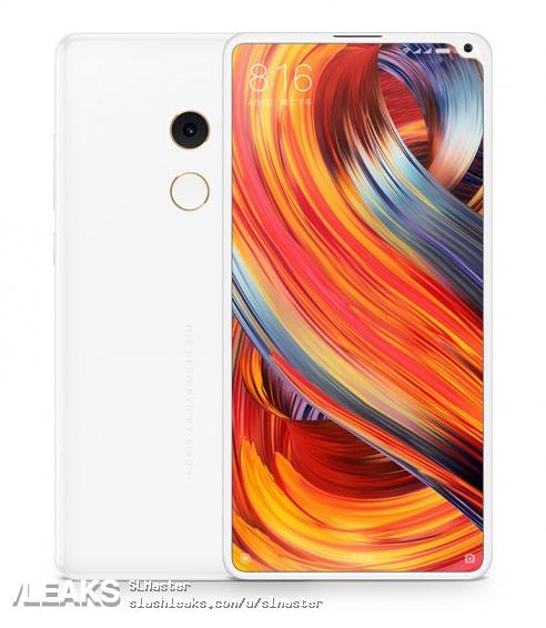 36f475a12 Xiaomi Mi MIX 2S to get under display fingerprint sensor  Leaked design