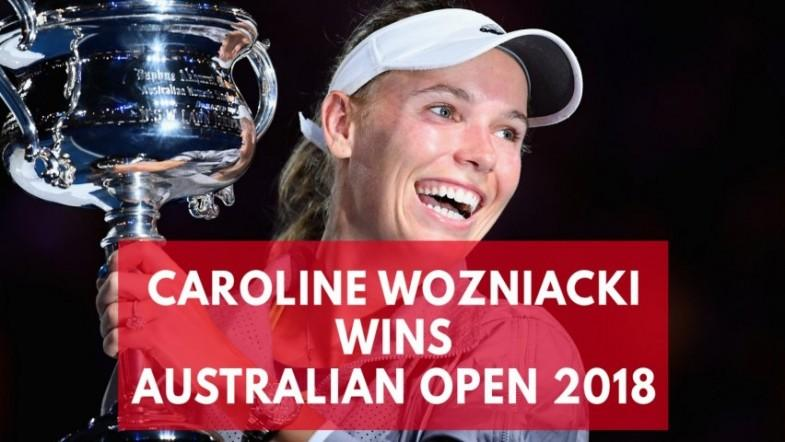Australian Open 2018: Caroline Wozniacki wins womens title