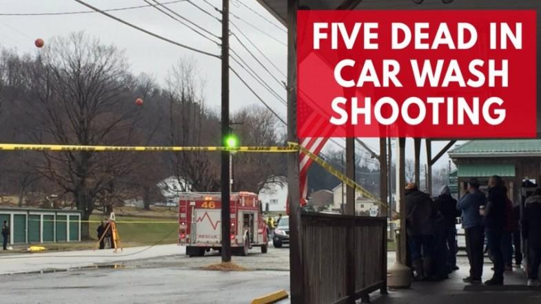 At least five killed at car wash shooting in Pennsylvania