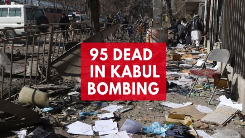 At least 95 killed by ambulance bombing in Afghanistan
