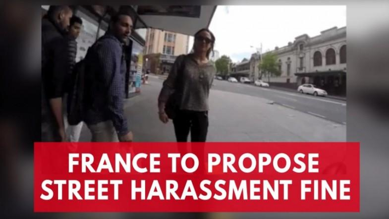 Men could soon be fined for catcalling in France
