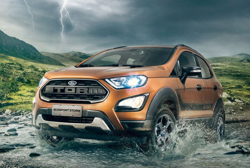 2018 Ford EcoSport Storm revealed with four-wheel-drive ...
