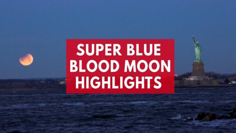 Super blue blood moon stuns viewers around the world