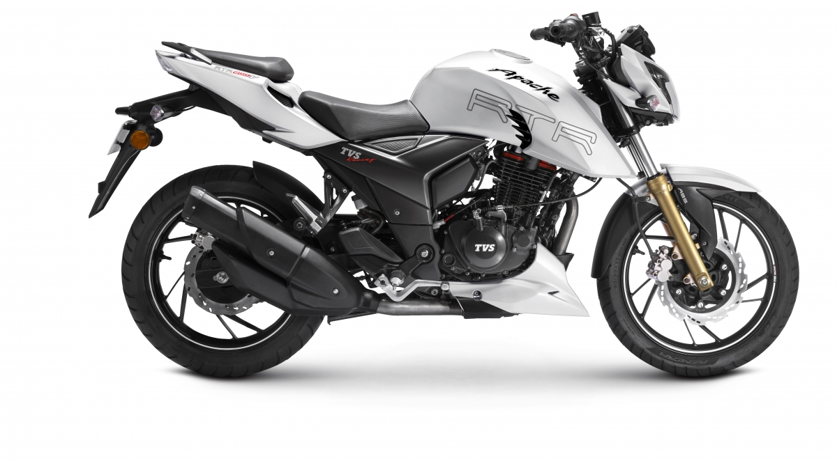 2018 Tvs Apache Rtr 200 4v Abs Launched At Rs 1 07 Lakh