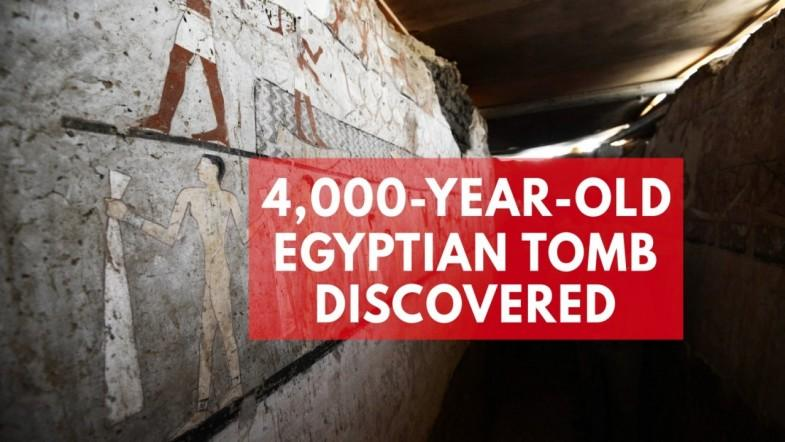 Archaeologists discover 4,400-year-old tomb of ancient Egyptian priestess