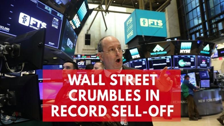 Dow Jones blood bath sees biggest day drop in more than 6 years