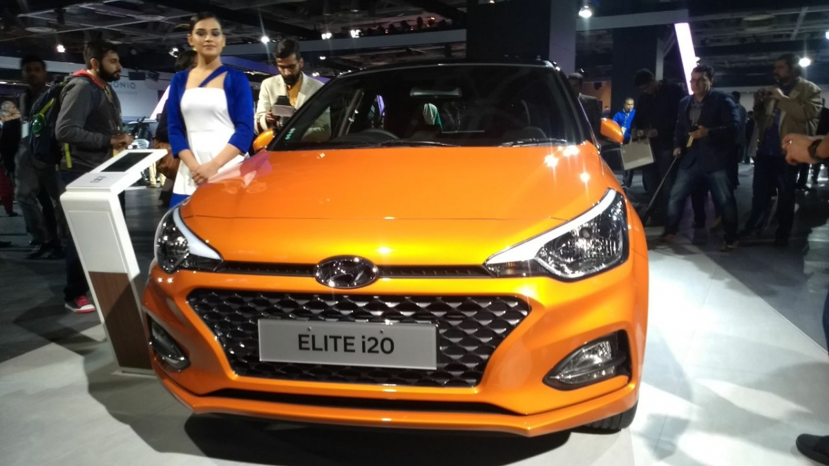 Auto Expo 2018 Hyundai Elite I20 Facelift Launched Ioniq