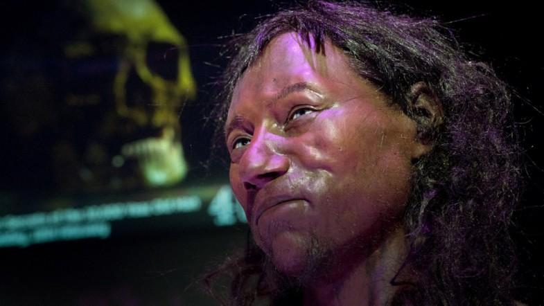 First Briton had dark to black skin