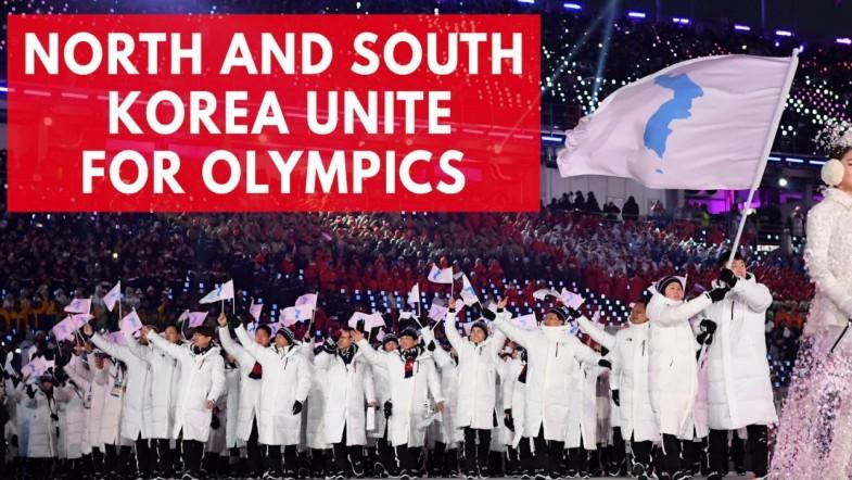 North and South Korea unite for fourth time at 2018 Winter Olympics