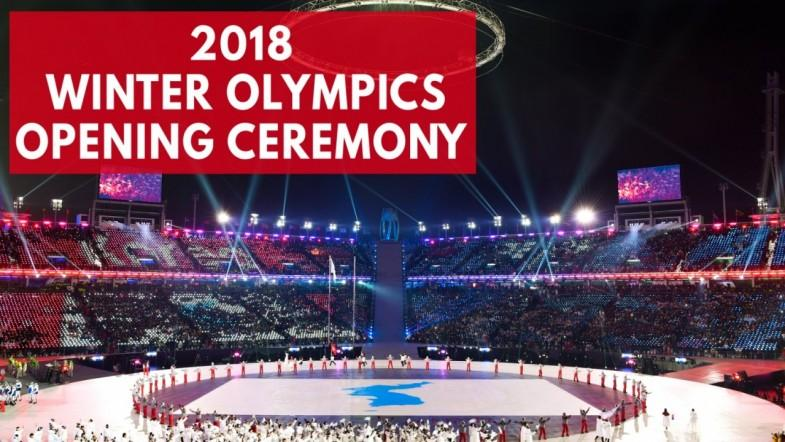 2018 Winter Olympic games kick off with opening ceremonies