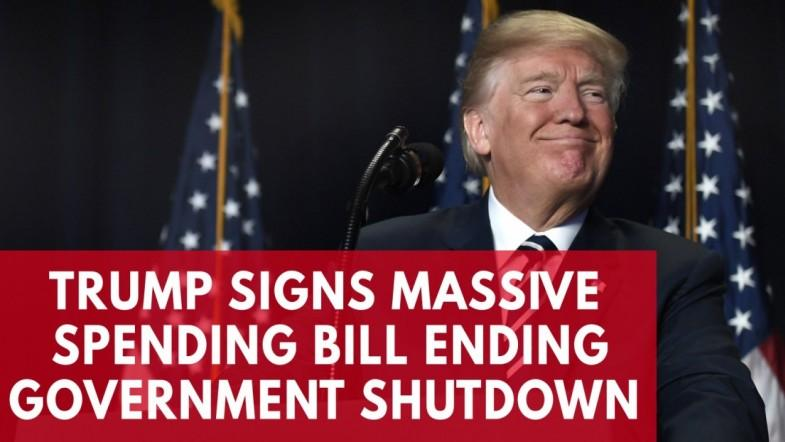 Whats in President Trumps spending bill that ended 2018s second Government shutdown?
