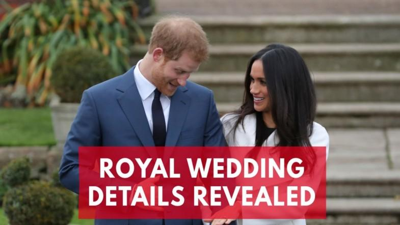 Prince Harry and Meghan Markles Wedding Details Revealed
