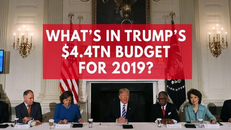 Whats in President Trumps $4.4tn budget for 2019?
