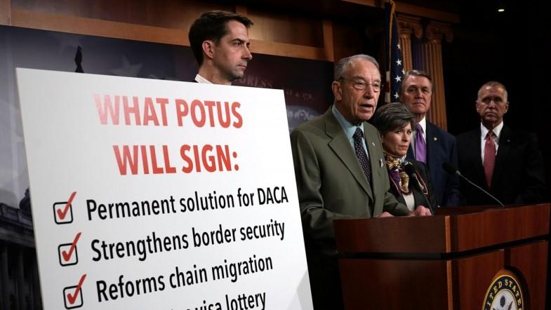 US Senate debates Dreamer immigrants future for first time in five years