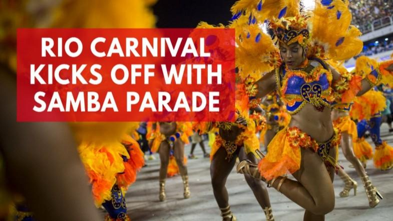 Rio carnival 2018 - Dazzling displays from the Sambadrome